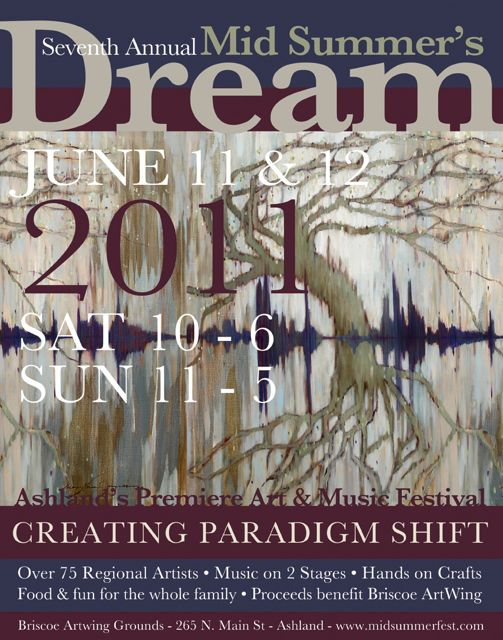 MidSummer's Dream - Ashland's Premiere Art & Music Festival